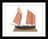 A full hull model of the mackerel driver 'Ebenezer' (1867) by Max T. Davey