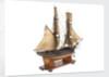 Brig fighting vessel, 14 guns by unknown