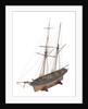 Armed schooner 'Globe' 1840 by unknown