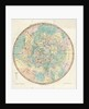 Constellation card, Urania's mirror, Chart of the Heavens for the Latitude of London by Sidney Hall