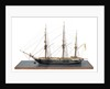 Model of 28-gun frigate HMS 'Samarang' (1822) by unknown