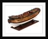 A model of a warship (1741), sixth rate, sloop, 24 guns by unknown