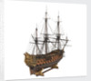 Navy board model of warship 'St Michael (1669)', 98 guns, 1st rate by unknown