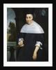 Portrait of Anna van Gelder by Hendrick Berckman