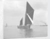 Sailing barge 'Mildreda' (Br, 1900) under sail by unknown