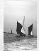 'Gloria' (Br, 1898) and 'Sirdar' (Br, 1898) under sail by unknown