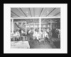 First Class Dining Saloon on the 'Orduna' (1914) by Bedford Lemere & Co.