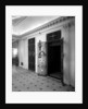 Passenger elevators in the Grand Entrance on the 'Aquitania' (1914) by Bedford Lemere & Co.