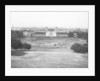 Photograph taken looking down on Queen's House from Greenwich Park, 1879-1884 by unknown