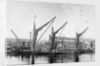 Barges at Bow Creek by unknown