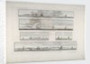 Chart entitled 'Five distant views of the Isle of Sable' by Des Barres, 1776 by Joseph Frederick Wallet Des Barres