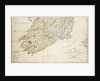 A new map of Ireland civil and ecclesiastical, 1797 by Daniel A. Beaufort