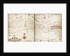 Chart of Mediterranean, Black and Caspian seas by John Burston