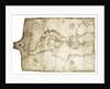 Mediterranean and Black Seas 1546 by Vesconte Maggiolo