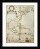 Chart of the western Atlantic, 1678 by Joel Gascoyne