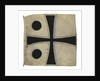 Command flag, Rear Admiral, Imperial Germany (1869-1918) by unknown