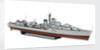 Destroyer HMS 'Vigo' by Norman Peters