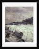 Destroyer smoke screen (detail) by Norman Wilkinson