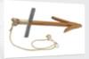 Anchor model - wooden killick - Greek/Roman by unknown
