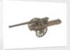Gun model; Field Gun by unknown