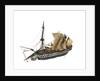 Warship; 80 guns by William Haines