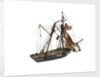 'Pickle'; service vessel; schooner, topsail by William Haines