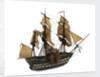 Warship; 74 guns ? by William Haines