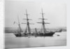 Survey vessel, ex-wooden screw gun vessel, HMS 'Sylvia' (Br, 1866) by unknown