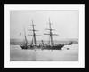 Survey vessel, ex-wooden screw gun vessel, HMS 'Sylvia' (Br, 1866) by unknown