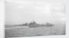 Destroyer HMS 'Hereward' (1936) with HMS 'Valiant' by unknown