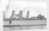 Heavy cruiser HMS 'Berwick' (1926), close up amidships by unknown