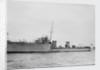Torpedo boat destroyer HMS 'Wear' (1905) by unknown