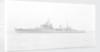 Light Cruiser HMS 'Birmingham' (1936) in September 1947, under way off Portsmouth by unknown