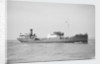 Tanker 'British Scout' (Br, 1922) under way off Swansea, bound in by Anonymous