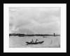 Two women rowing a double ended sampan, Shanghai by Kenneth Hurlstone Jones