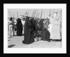 Women servants came to buy dates and other goods on the waterfront by Alan Villiers