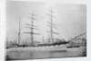 Three masted barque 'Scottish Wizard' (Br, 1881) by unknown