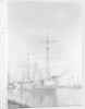 'Tijuca' (Fr, 1892) at moorings at Buenos Aires with a temporary rig by unknown