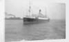 Cargo liner 'Baltara' (Br, 1909) ex 'Suntemple' and ex 'Berbice', United Baltic Corp Ltd, at anchor by unknown