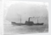 Ossian' (Br, 1919), under way by unknown