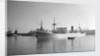 General cargo 'Queen Anne' (Br, 1943) ex 'Kelmscott', in Cape Town harbour by unknown