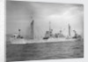 'Lapland' (Br, 1942) at anchor by unknown