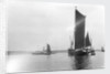 A view across the River Orwell from near Pin Mill with the spritsail barge 'Freston Tower' (1889) in the foreground by Smiths Suitall Ltd.