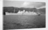 A passenger short sea steamer 'Lady Killarney' (Br, 1912) at anchor off Ballachulish, 1947-1956 by Anonymous