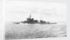 Battleship HMS 'Warspite' (1913) under way at sea off Cape Wrath in June 1943 by unknown