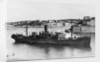 'Ajax' (Br, 1931) under way in Grand Harbour, Malta, arriving in convoy MW 8A by unknown