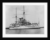 Battleship 'Asahi' (Jp, 1899) at moorings in Portsmouth harbour by unknown