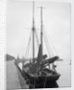 'Thomas B. Miller' (Br, 1906) moored at unidentified quayside by unknown