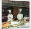 Christmas buffet aboard the 'Empress of England' by Marine Photo Service