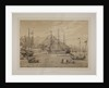 Hong Kong 1867: HMS Princess Royal, Flagship of Vice-Admiral George King, Commander-in-chief of the China Station by Oliver Jones